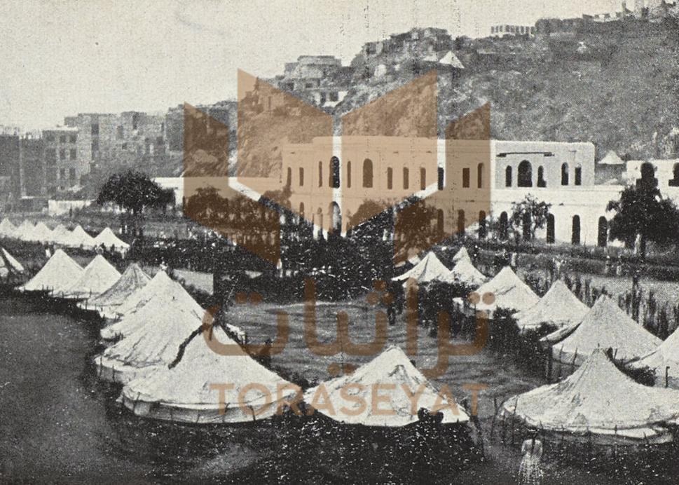 معسكر العثمانيين في منطقة جياد