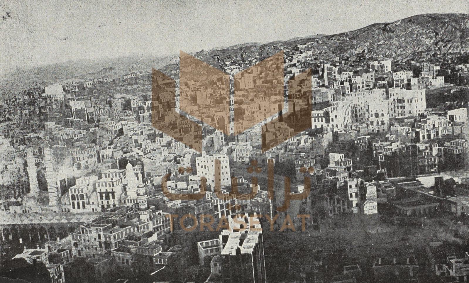 وادي عبدالمطلب بعد امتداد العمران له ، وهو المعروف في التاريخ بشعب أبي طالب