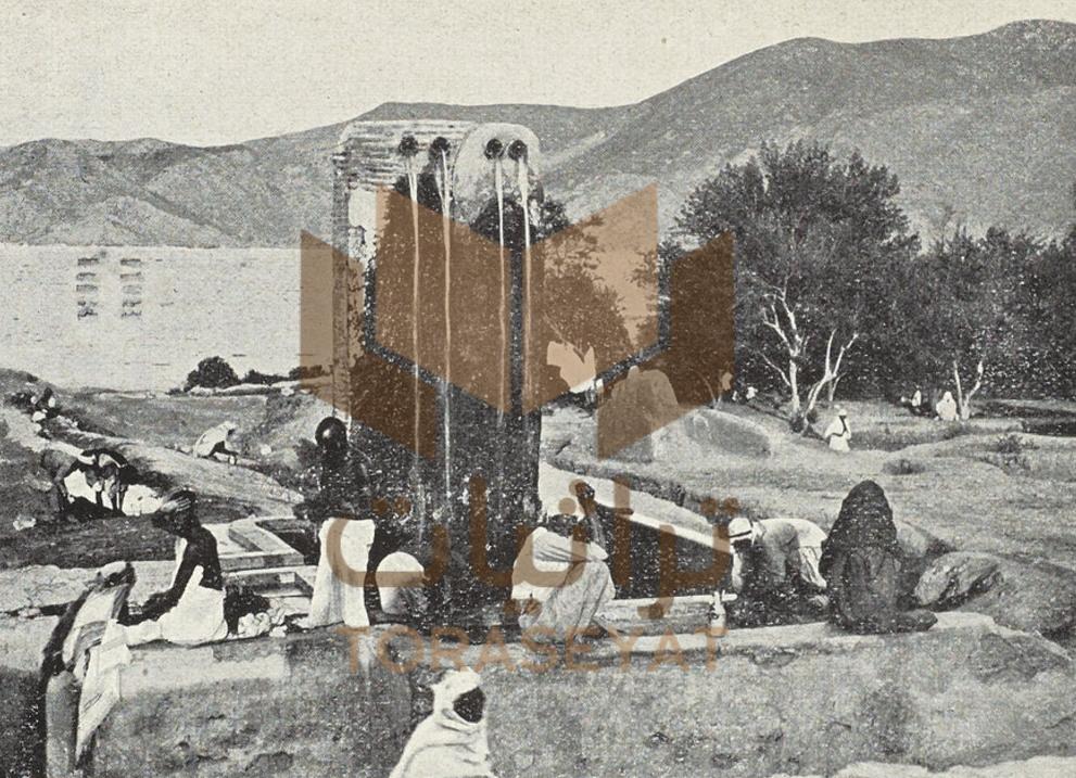 حديقة الشريف عون الرفيق شريف مكة سنة 1901 م