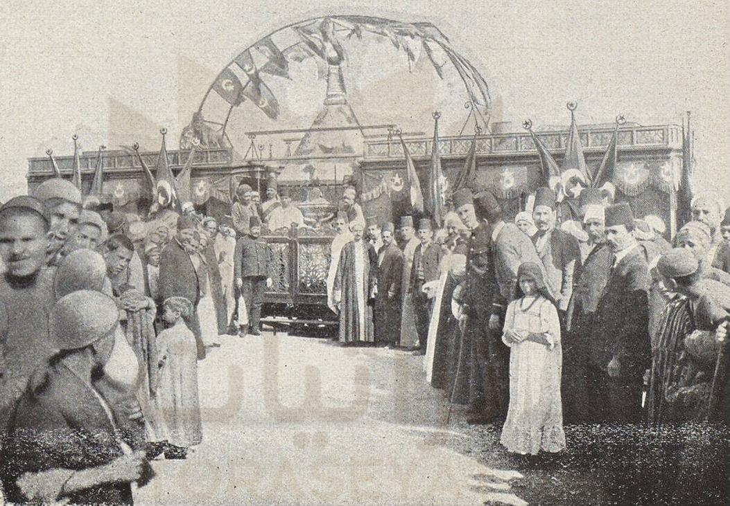 وصول المحمل المصري إلى سكة حديد الإسماعيلية
