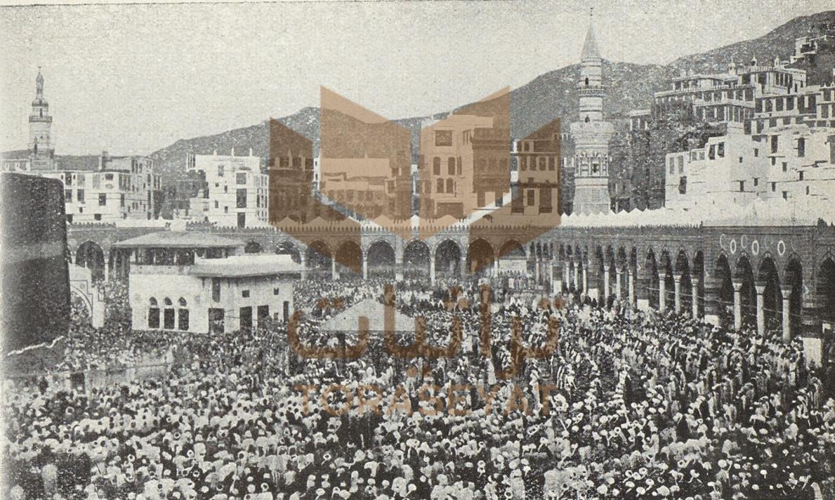 منازل أشراف مكة الهاشميين وسط قلعة أجياد