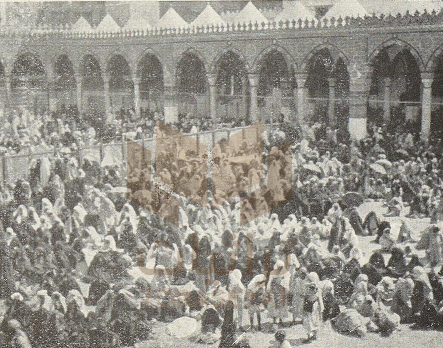 مصلى النساء في الحرم المكي