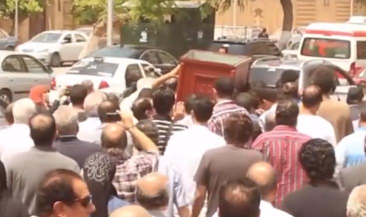 جنازة خليل مرسي