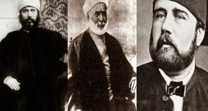 الخديوي إسماعيل - محمد عبده - جمال الدين الأفغاني