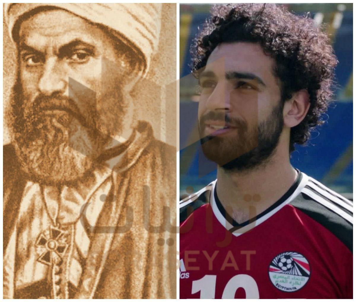 اللاعب محمد صلاح - الشيخ محمد عياد الطنطاوي