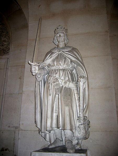 تمثال لـ فيليب أغسطس