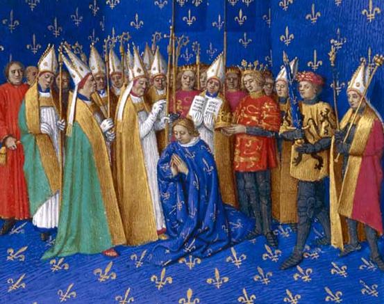 تولي فيليب أغسطس حكم فرنسا