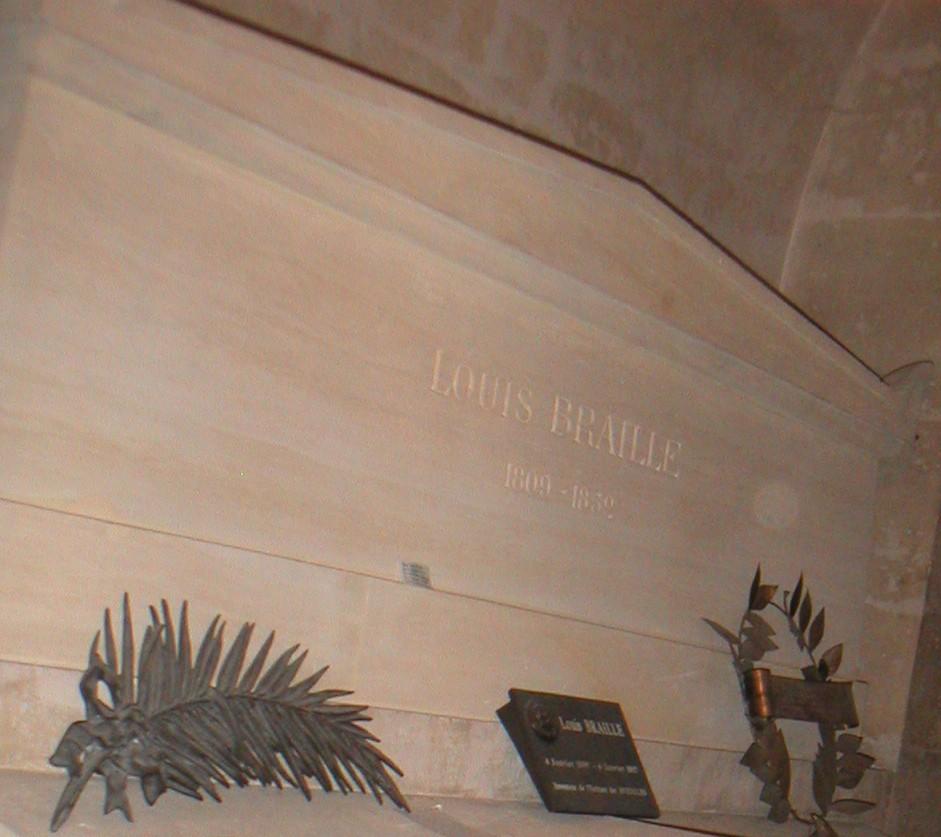 قبر برايل في بانتيون باريس