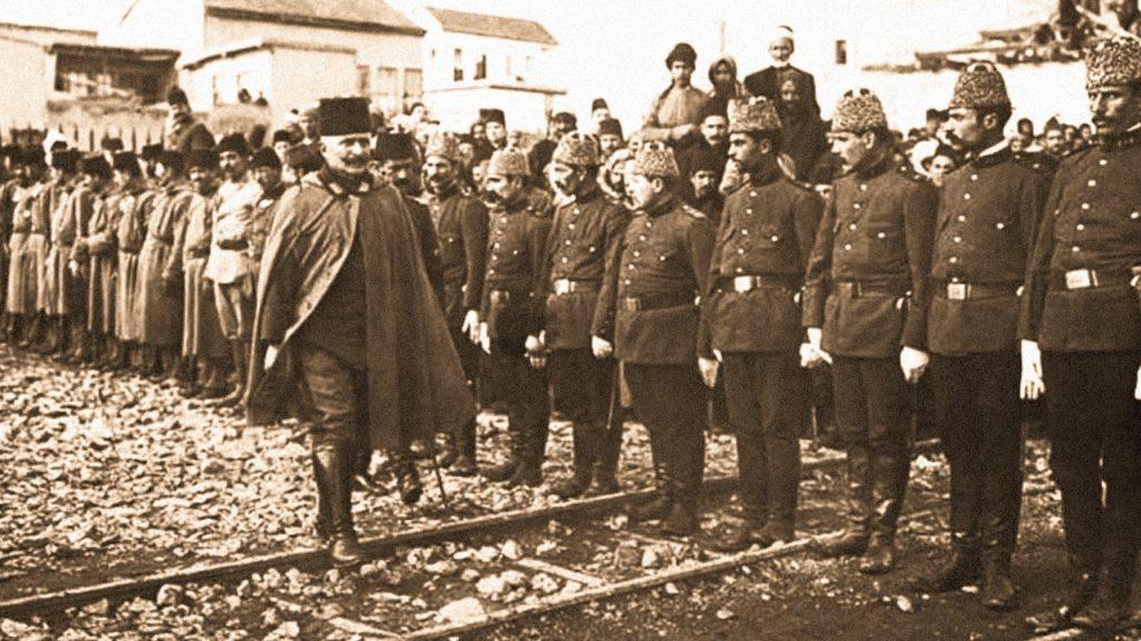 فخر الدين باشا مع قواته