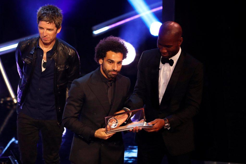 محمد صلاح يفوز بجائزة بوشكاش
