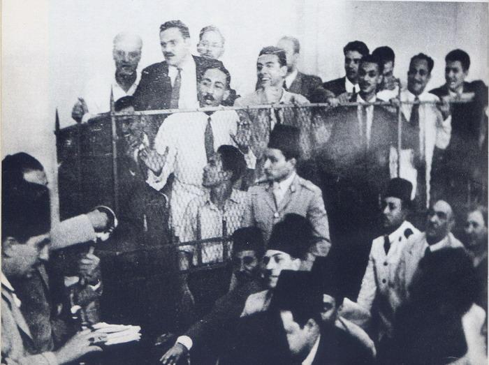 محاكمة السادات في اغتيال أمين عثمان ـ أشهر قضايا محمد لطفي جمعة