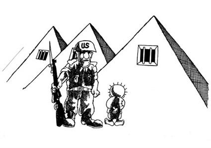 من رسومات ناجي العلي ضد مصر