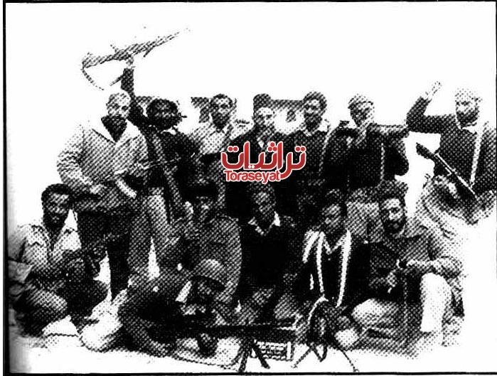 أبطال منظمة سيناء العربية مع الشيخ حافظ سلامة