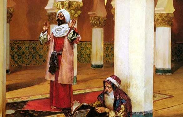 المغاربة في مصر - الرسام رودولف ارنست