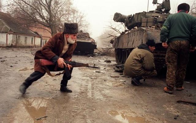 المقاتلين الشيشان ضد السوفيت