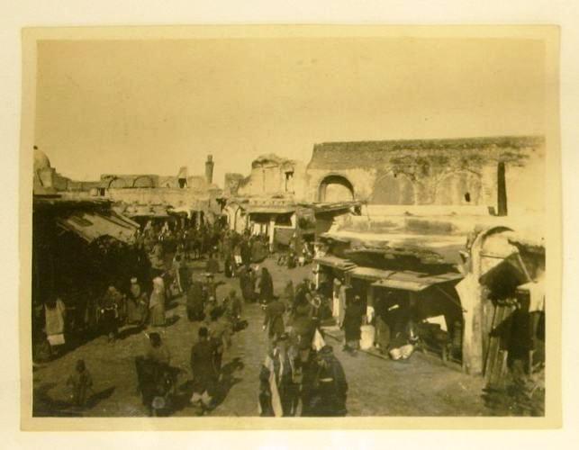 صورة نادرة لـ شارع الرصافة في العراق