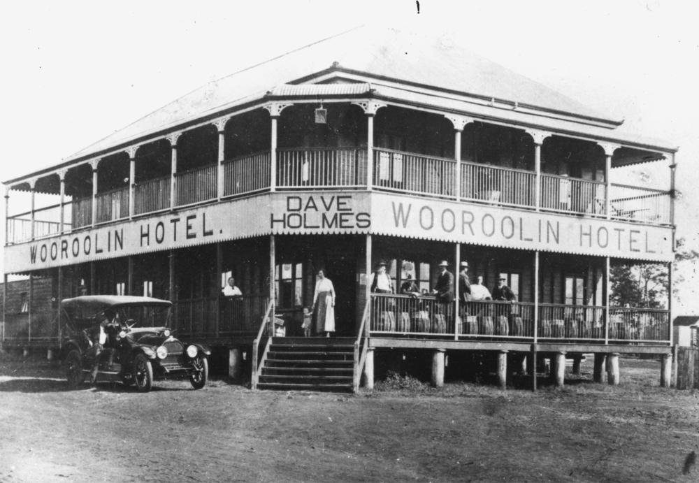 فندق وولوولين في أستراليا سنة 1915 م