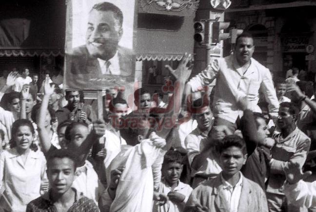 مظاهرة طلابية في عصر جمال عبدالناصر
