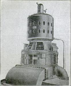 مولد كهرباء مصري في بدايات القرن العشرين