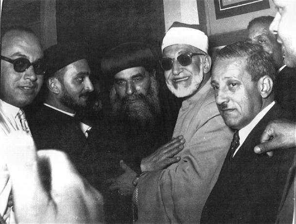 الشيخ محمد الفحام والبابا كيرلس