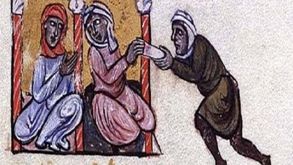 عبدالله وعبيدالله - رسمة تعبيرية