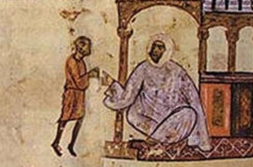 عبيدالله المهدي في رسمة بيزنطية