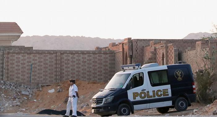 قوات الأمن في دفن محمد مرسي