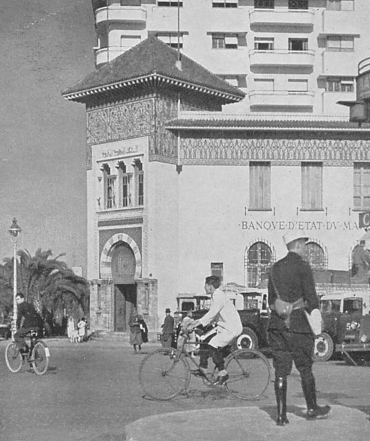 كازابلانكا عام 1930 م