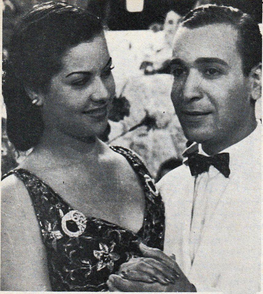 محمد أمين - مديحة يسري