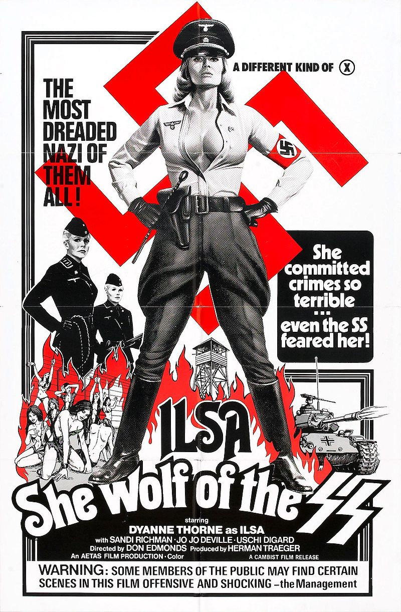 أفيش فيلم Ilsa, She Wolf of the SS