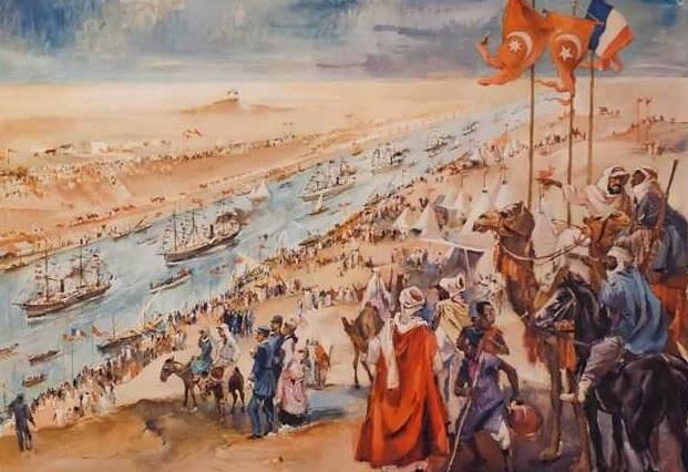احتفالات قناة السويس 1869