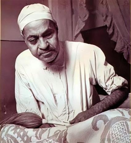 الشيخ محمد رفعت في أواخر أيامه