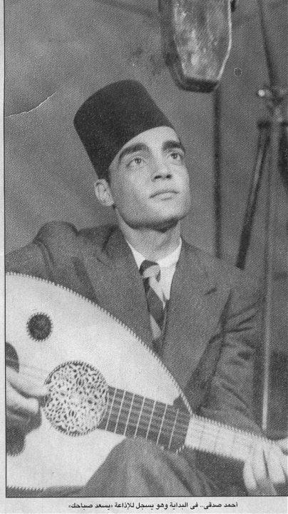 الموسيقار أحمد صدقى