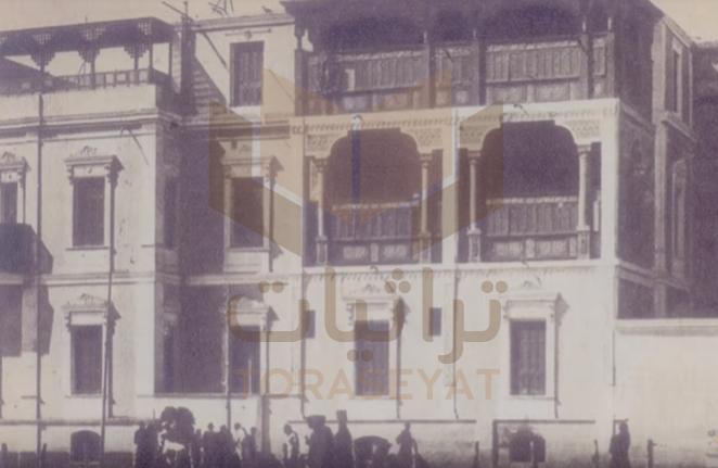 بيت عمار الشريعي في سمالوط