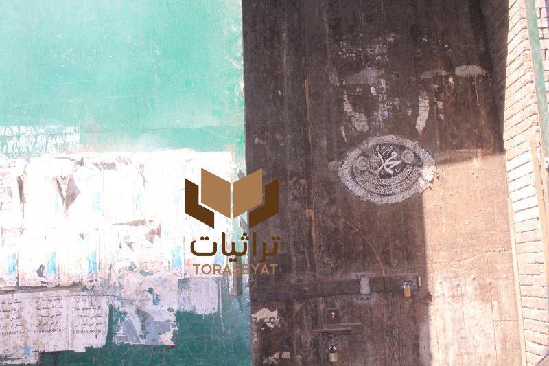 باب دار كسوة الكعبة في مصر - تصوير: ولاء سيد