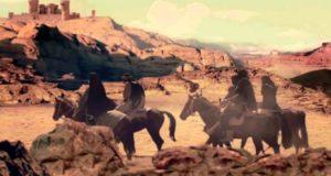 بدو المعارك - رسمة