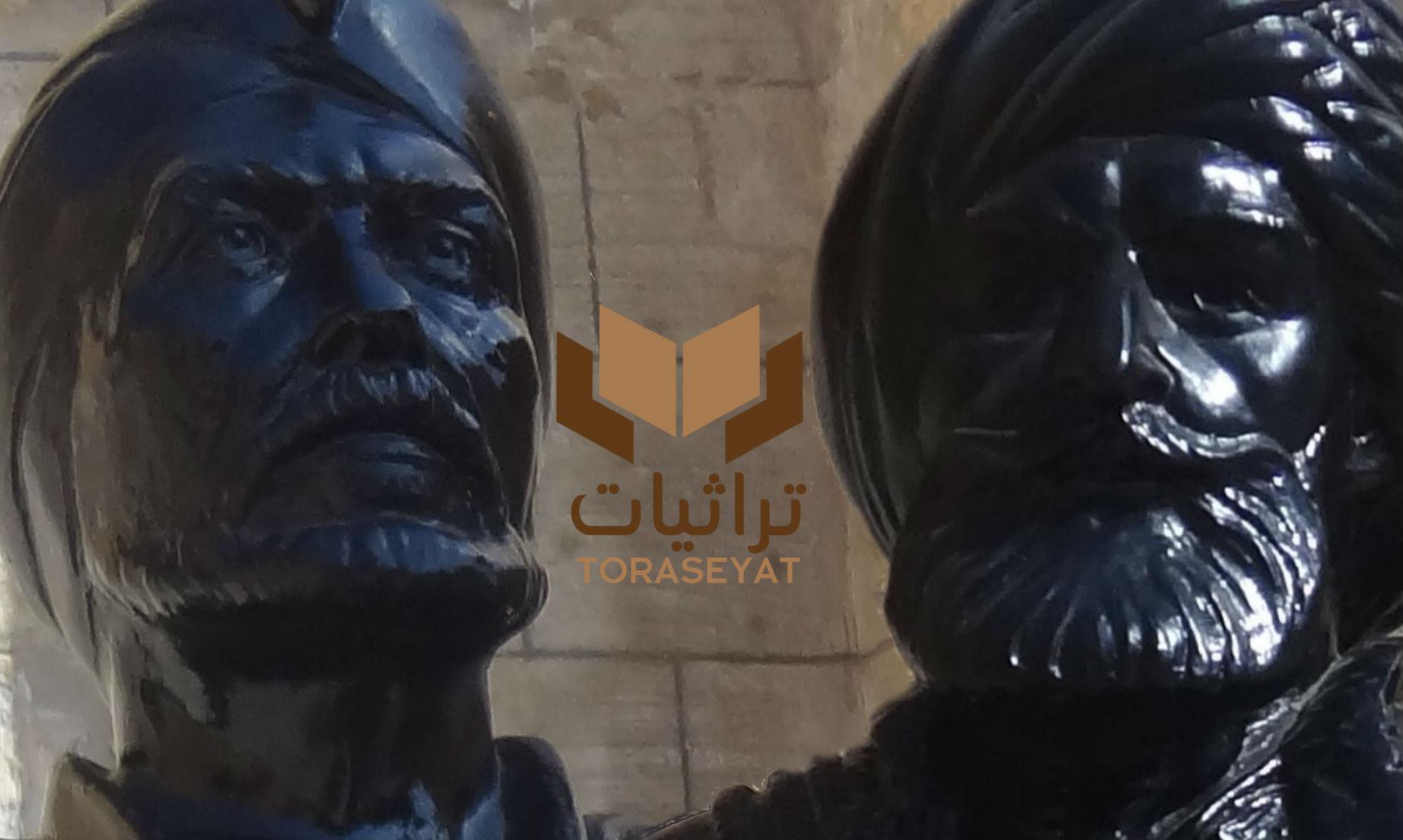 تمثال لـ محمد علي وصلاح الدين بالمتحف الحربي في القلعة