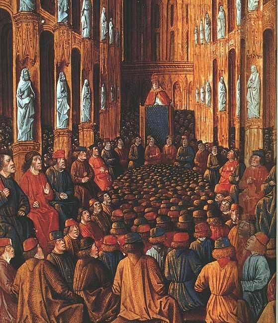 مجمع كليرمونت وخطبة البابا أوربان الثاني
