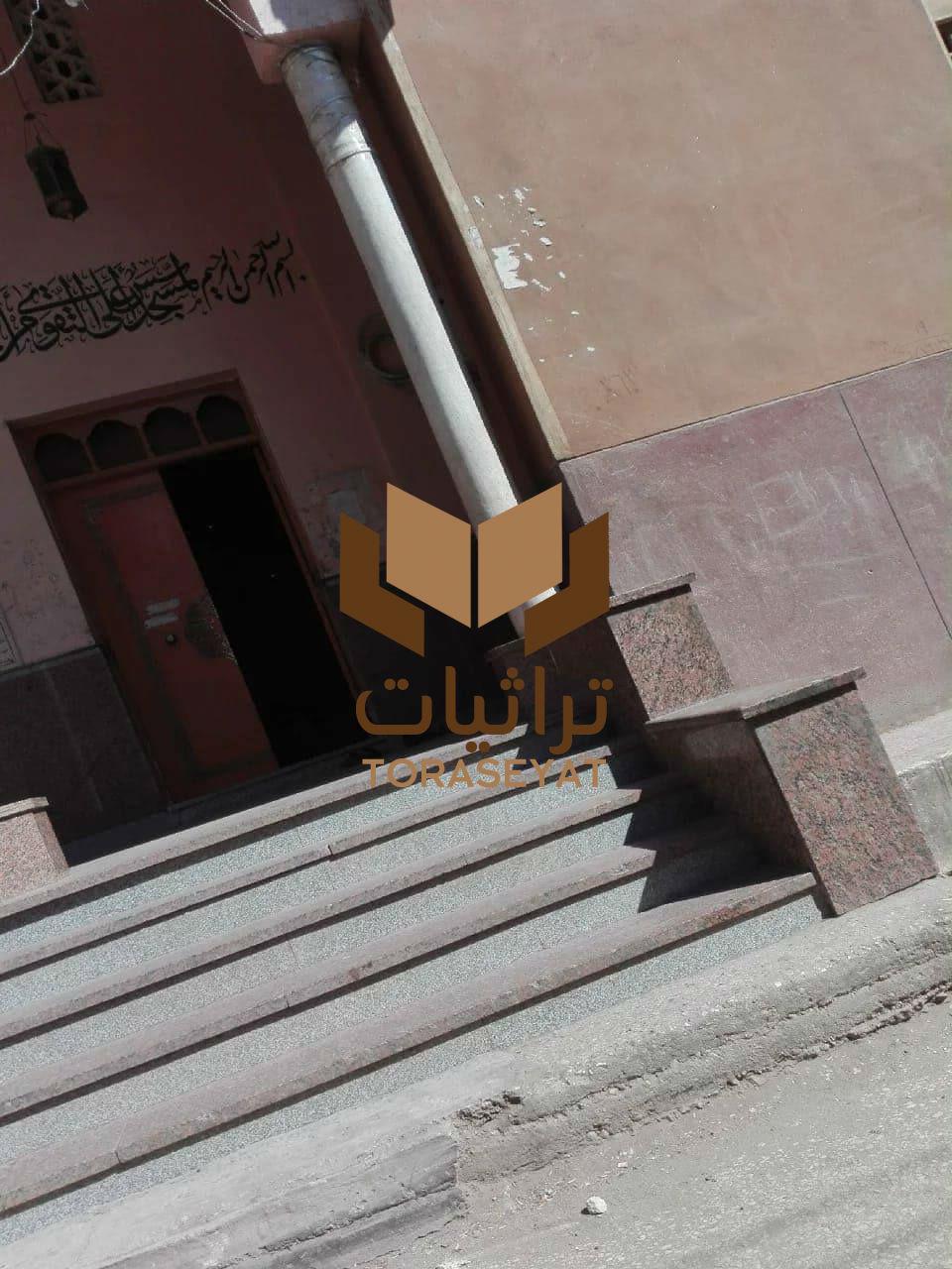 مدخل جامع عمار بن ياسر في البلينا