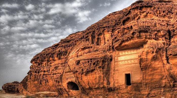 من آثار وادي القرى
