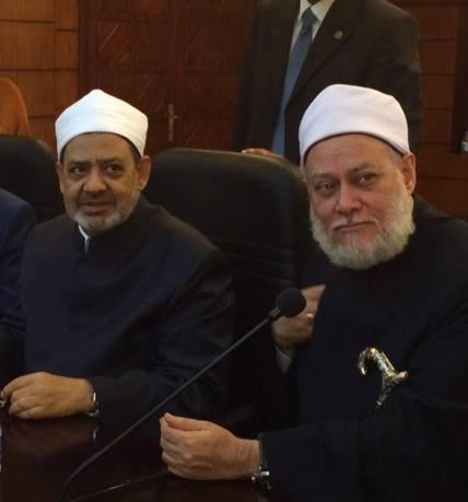 الشيخ علي جمعة والإمام الأكبر