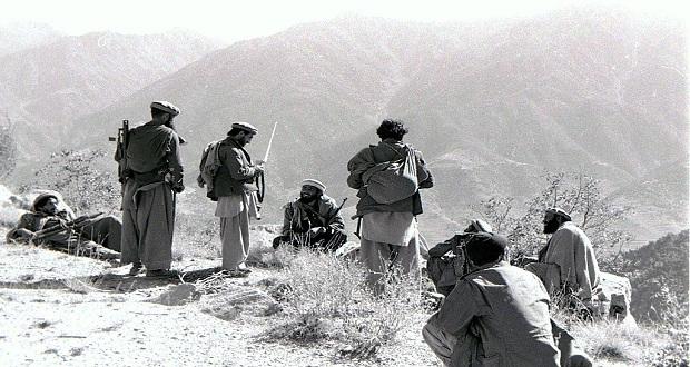 المقاتلين الأفغان