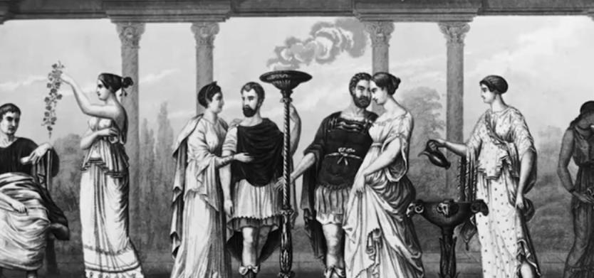 رسمة الأزياء في العصر الروماني