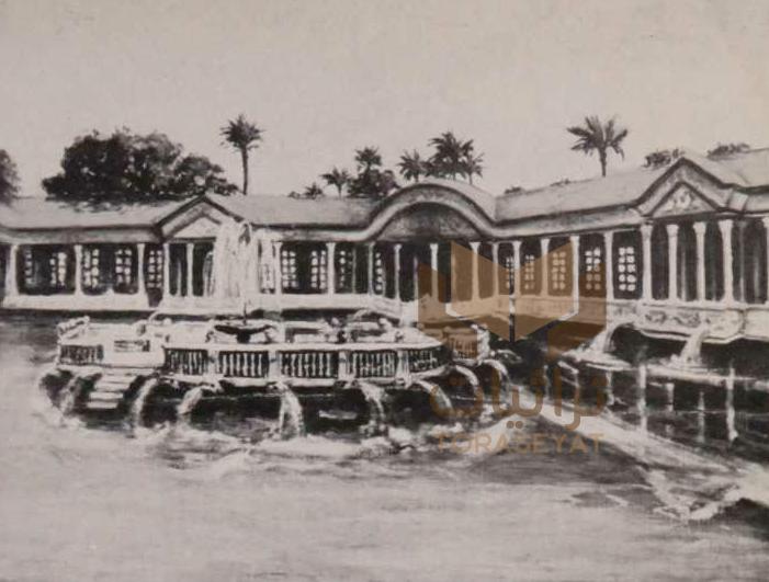 قصر محمد علي باشا في شبرا عام 1954 م