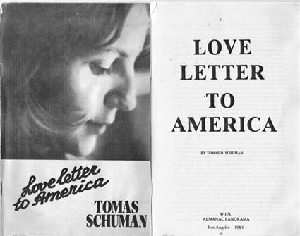 كتاب رسالة حب إلى أمريكا