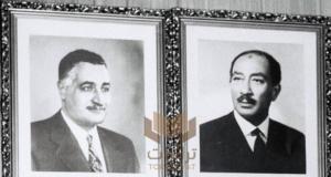 السادات وجمال عبدالناصر