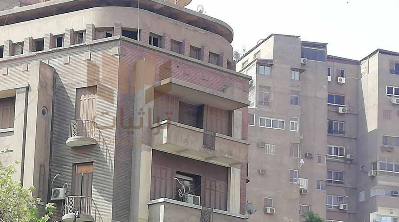 الشقة التي كان يسكن فيها نيازي مصطفى