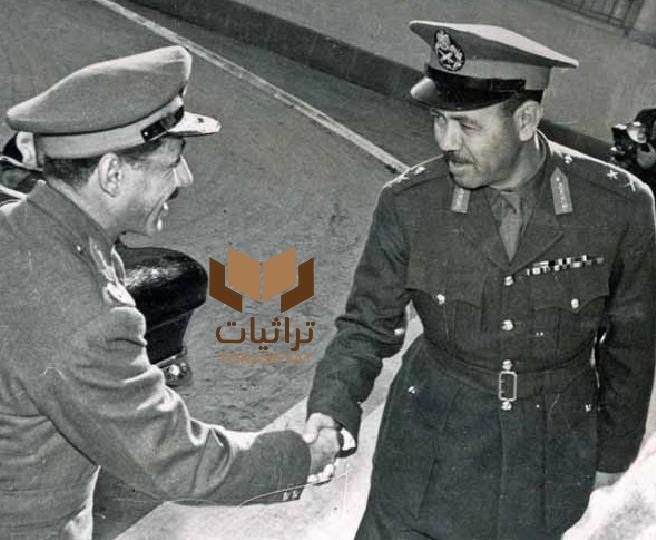 الفريق فوزي والمشير عبدالحكيم عامر