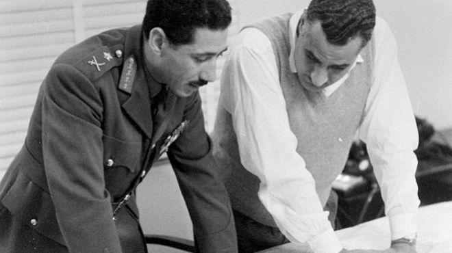جمال عبدالناصر - عبدالحكيم عامر