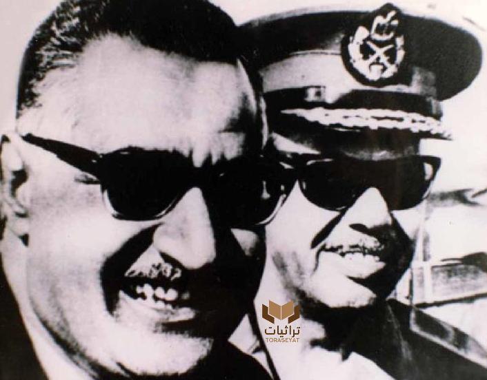 جمال عبدالناصر والفريق محمد فوزي